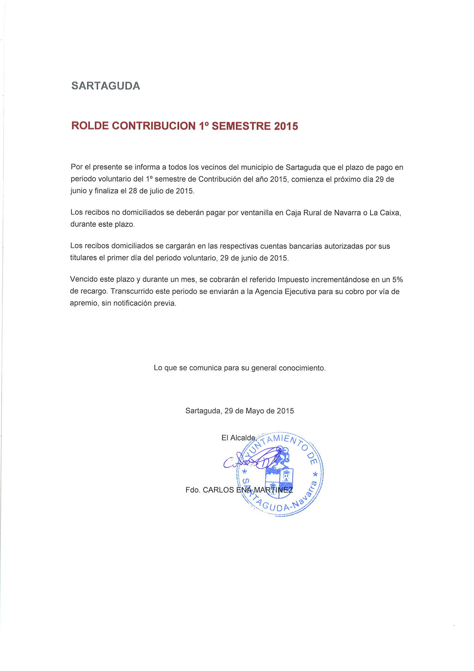 ROLDECONTRIBUCIONPRIMERSEMESTRE2015